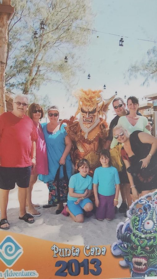 My family on our trip to the Dominican Republic, where my first memory of regret stems from