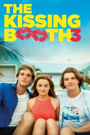 The film poster for Netflixs The Kissing Booth Three