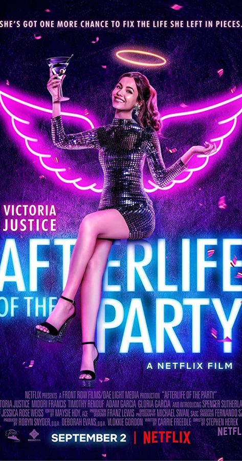 Afterlife of the Party Netflix poster