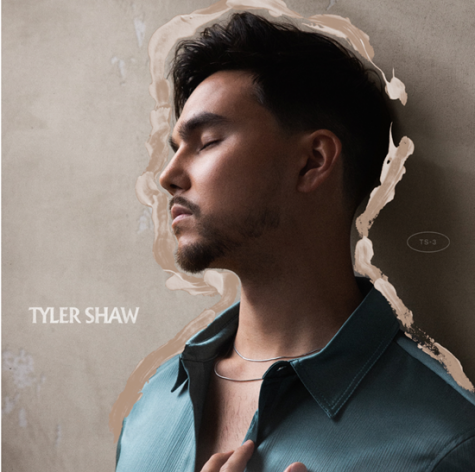 The album cover for Tyler Shaw's new self titled album.