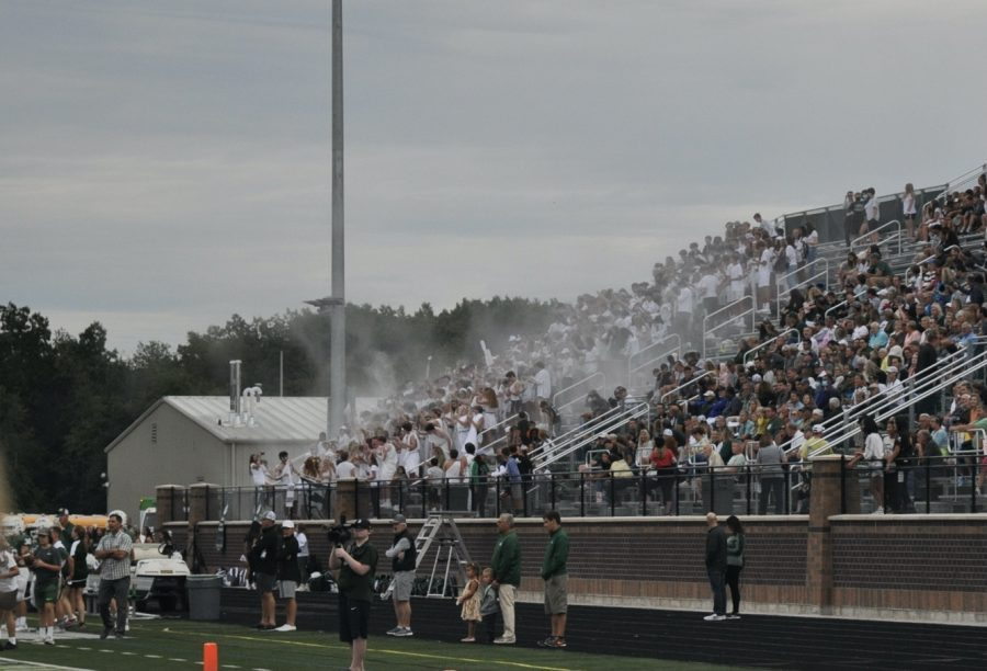 First Home Football Game: Photo Gallery
