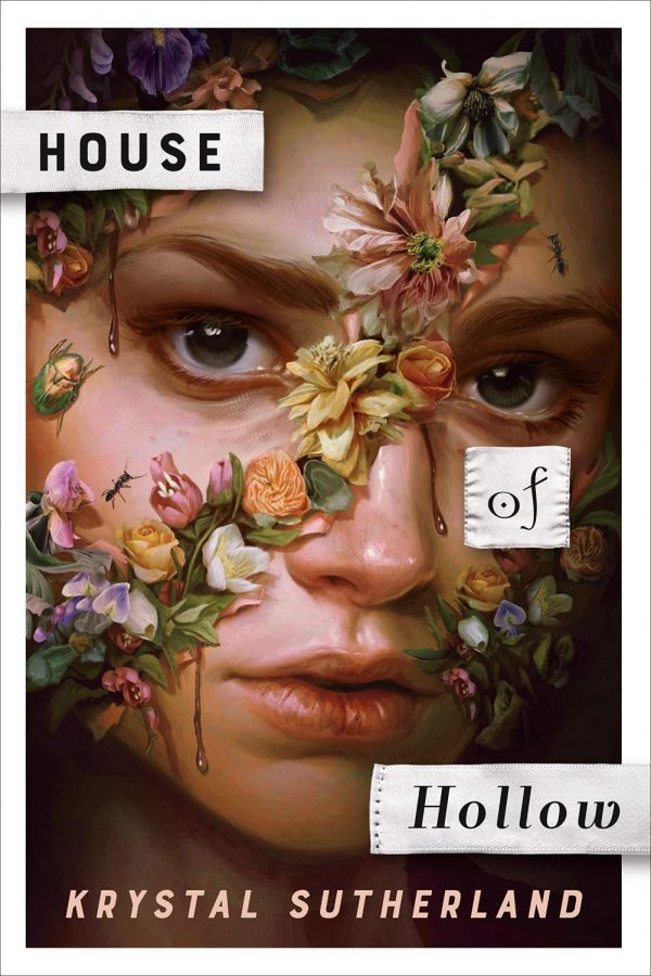 The cover art for Krystal Sutherlands book House Of Hollow.