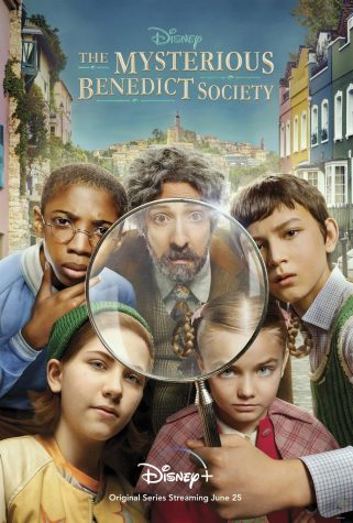 This is the poster for the new Disney + show, The Mysterious Benedict Society.