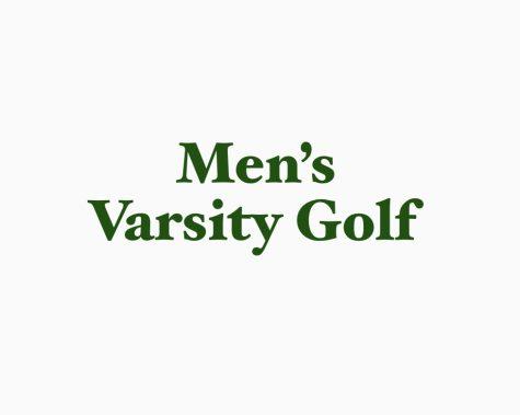 Mens Varsity Golf