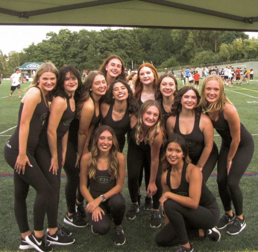 A picture of the FHCVDT at the annual community tailgate.
