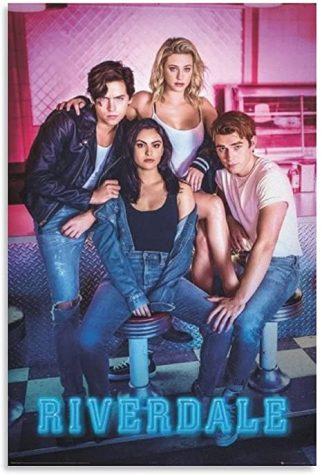 Riverdale season five poster, Betty Cooper, Archie Andrews, Jughead  Jones, Veronica Lodge.