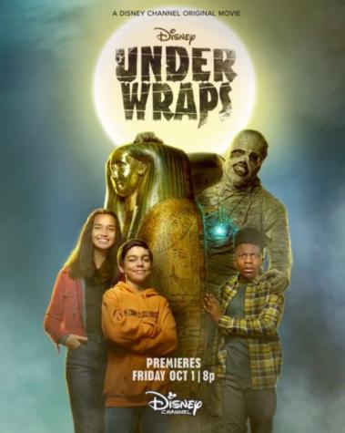 The movie poster for Disney Channel Original Movie, Under Wraps.