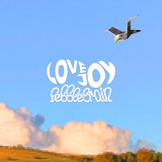 The album art for Lovejoys newest EP, Pebble Brain