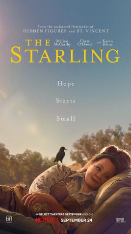 The poster for Netflix Original movie, the Starling, starring Melissa McCarthy.