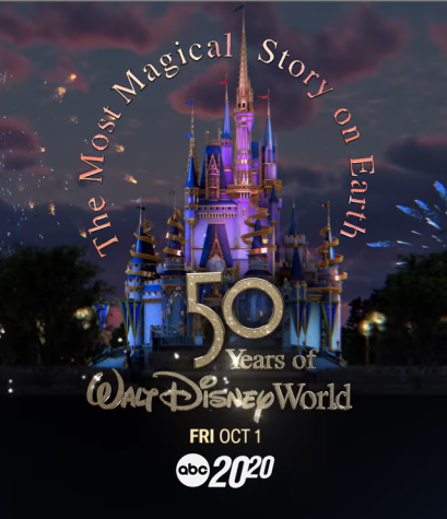 The most magical story on earth: 50 years of Walt Disney World poster